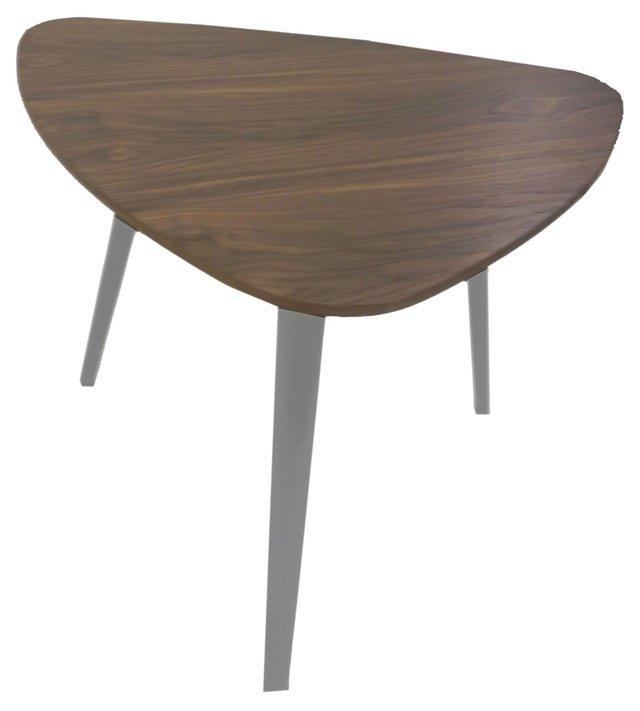 Hal Small Side Table, Walnut