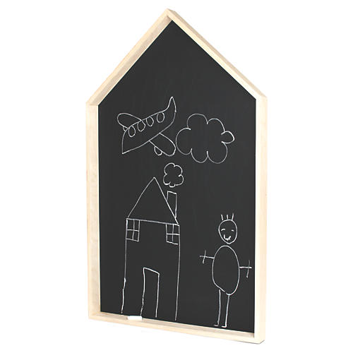Blackjack Large Kids' Blackboard, Black/Natural
