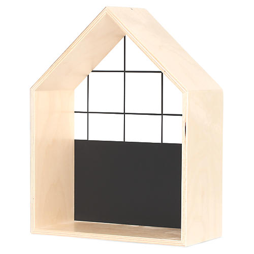 House Kids' Shelf, Black/White