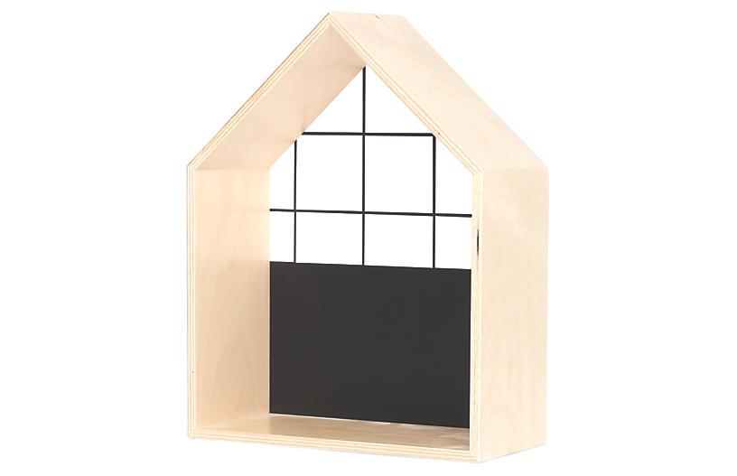 House Kids' Shelf, Black/White