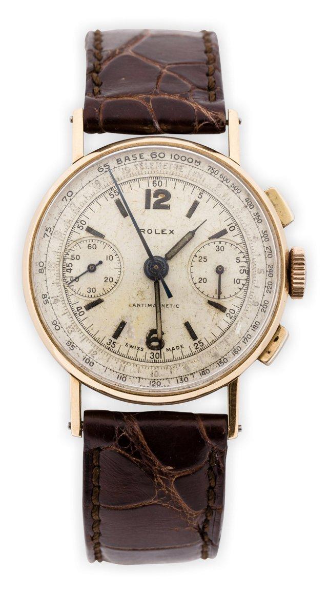 1940s Rolex 2 Register Chronograph