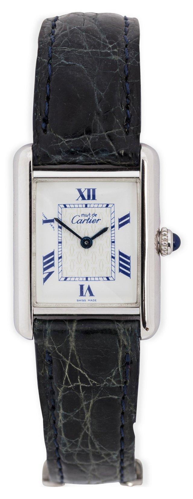 1980s Cartier Must de Cartier