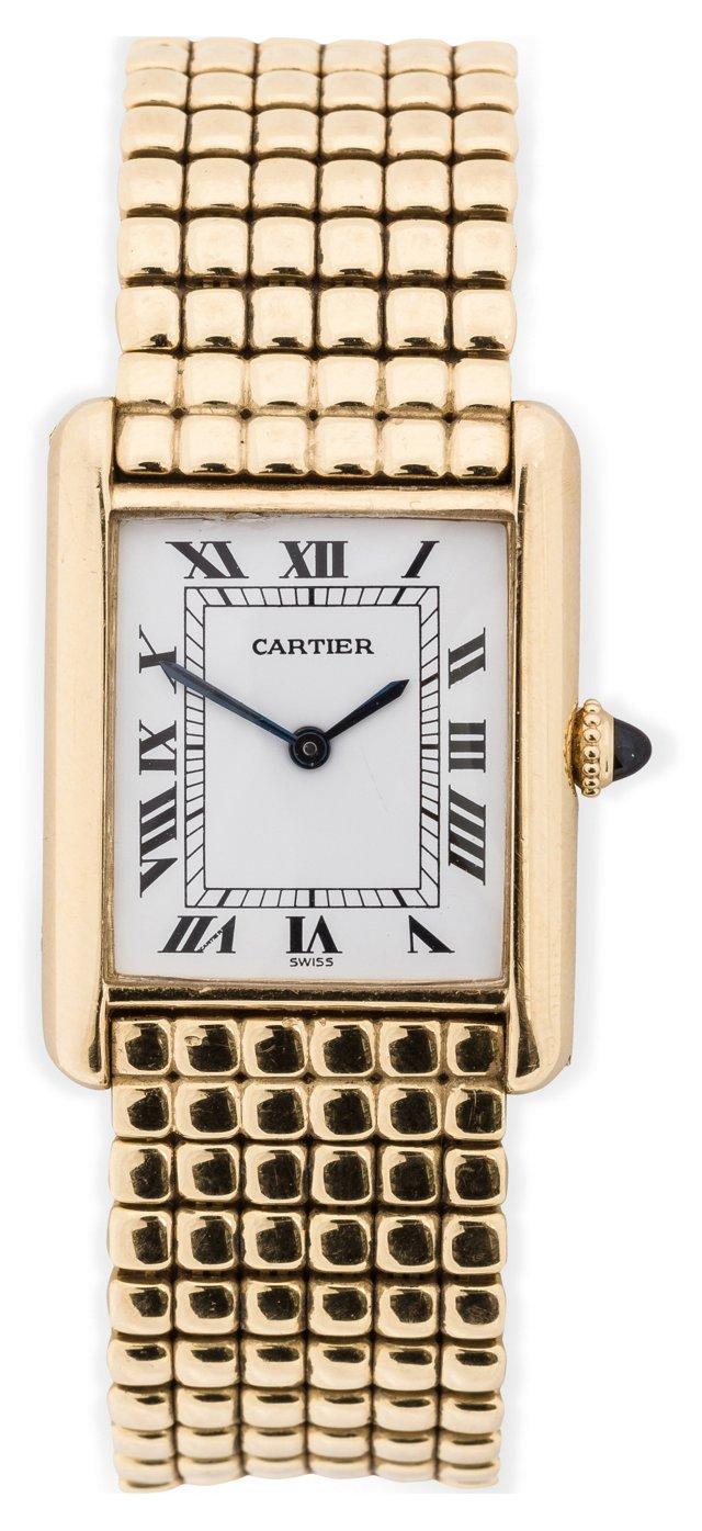 1970s Cartier Tank