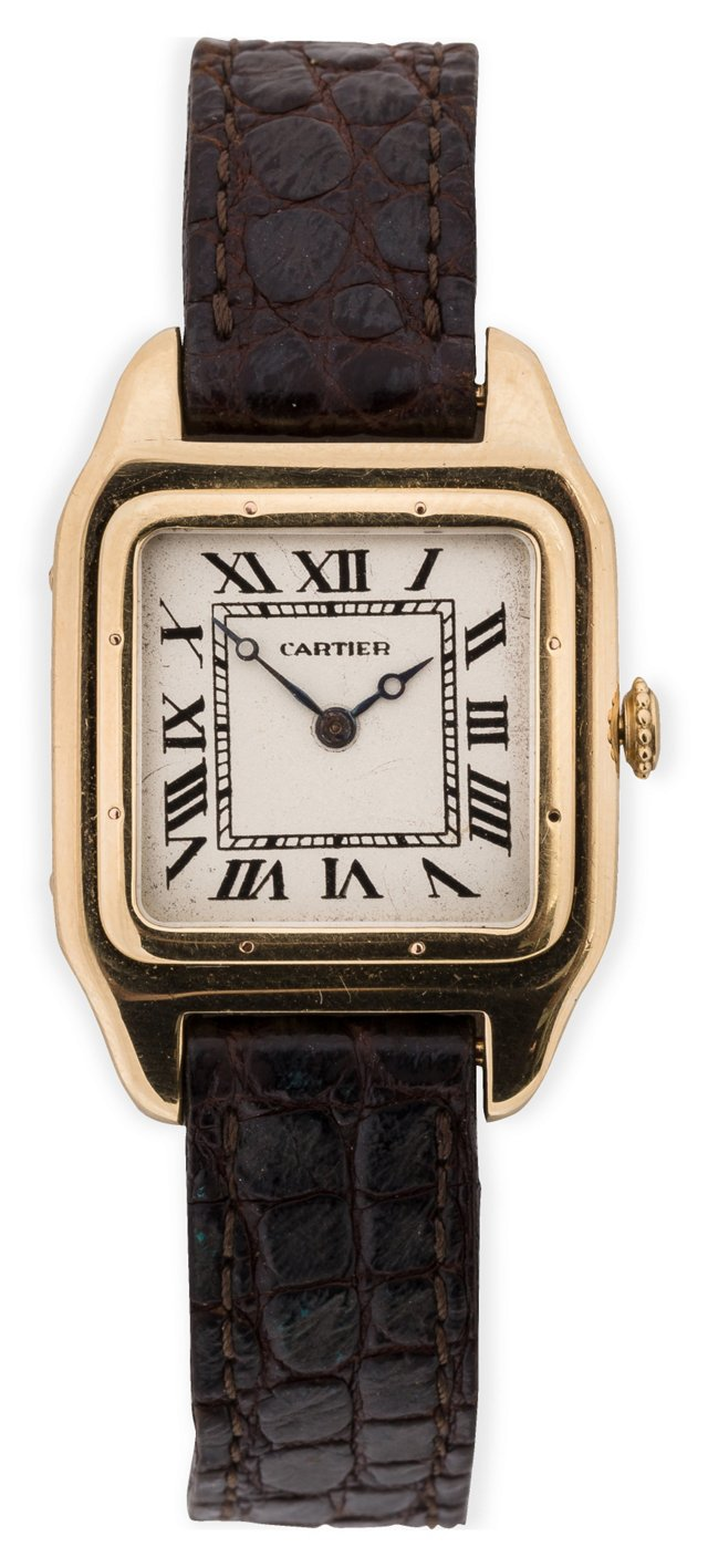 1930s Cartier Santos w/ EWC movement