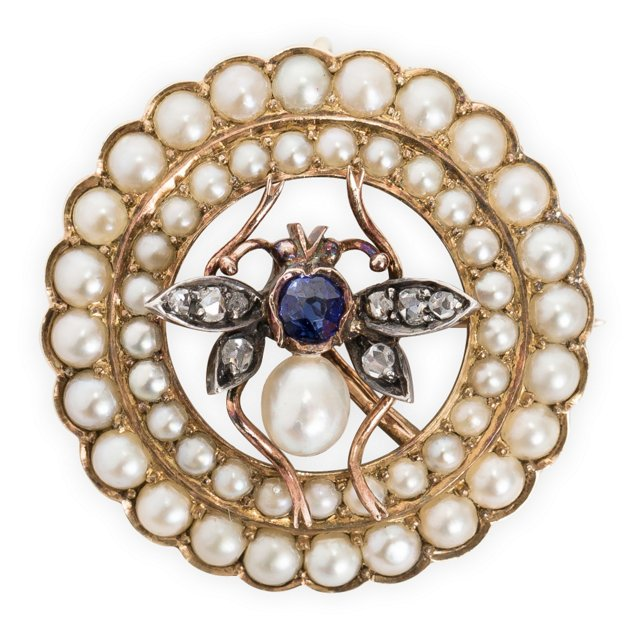 Victorian Fly Pin