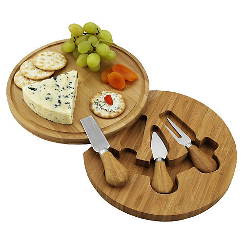 Feta Cheese Board Set, Natural