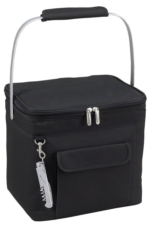 Multi Beverage Cooler, Black