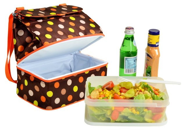 Lunch Cooler & Container, Julia Dot