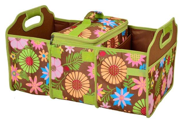 Trunk Organizer & Cooler, Floral