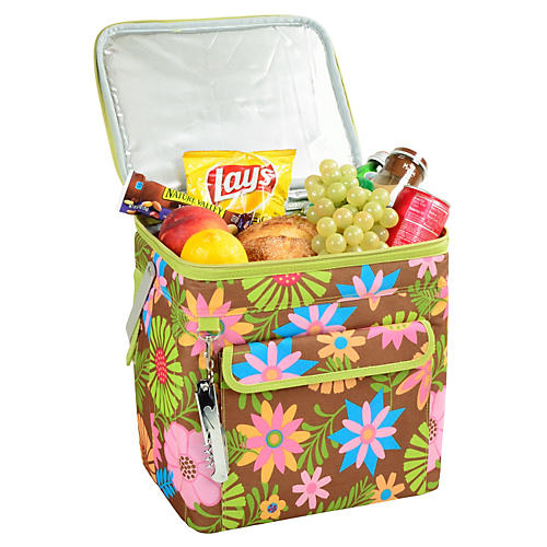 Large Multi-Purpose Cooler, Floral