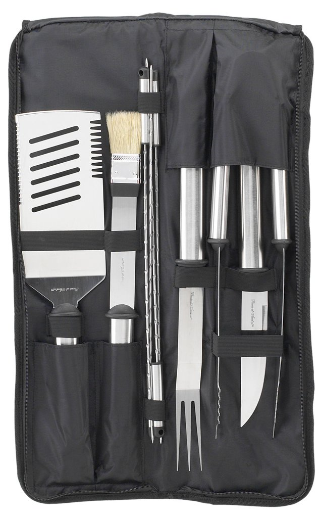 9-Pc Stainless Barbecue Set