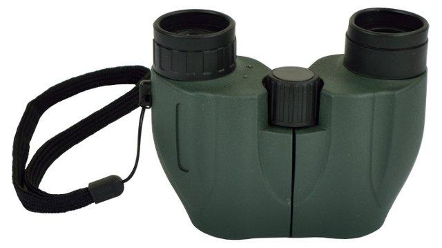 Binoculars w/ Carry Case, Green