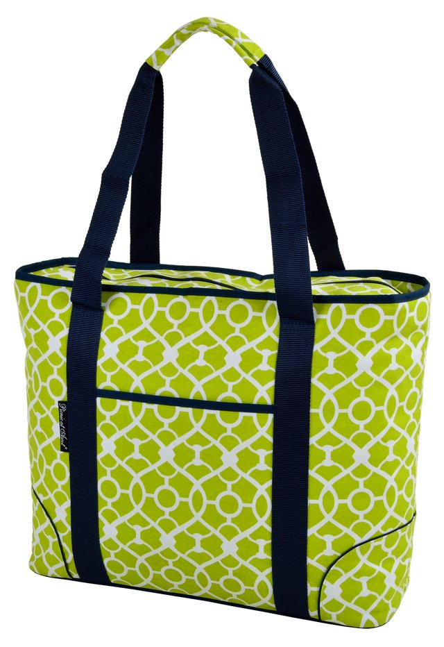 Extra Large Insulated Cooler Tote, Green