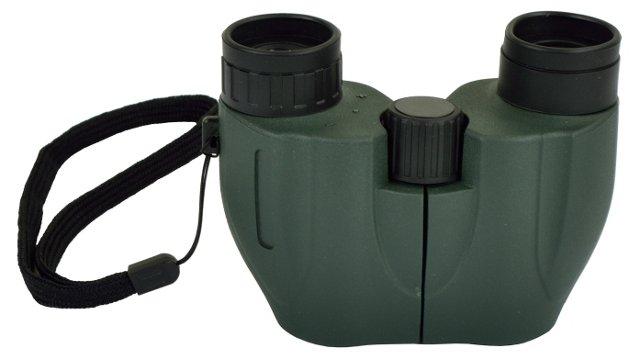 Compact Binocular w/ Carry Case, Green