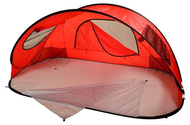 Family Sun Shelter, Red