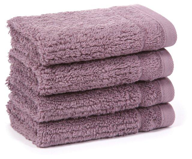 S/4 Hudson Washcloth, Wisteria
