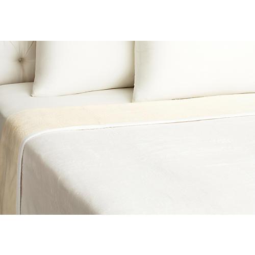 Favorite Blanket, Natural/White