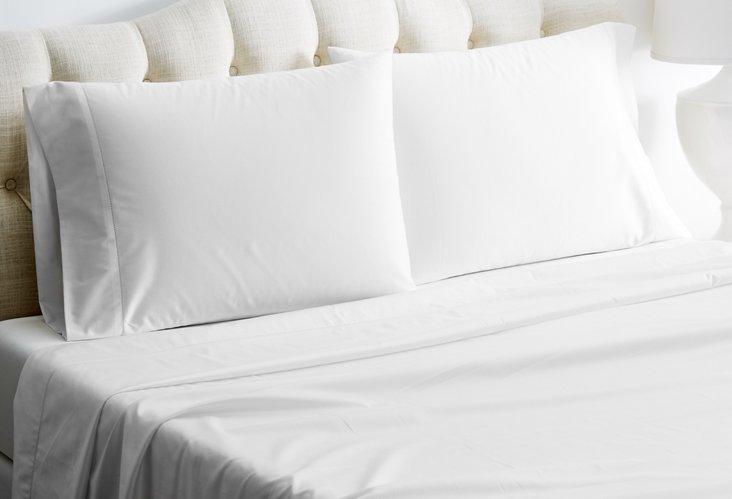 Arabesque Sheet Set, White