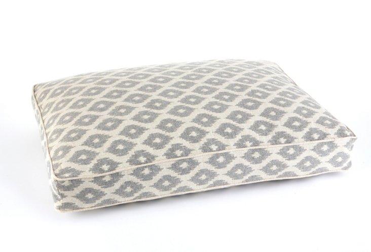 Ikat Floor Pillow, Flint