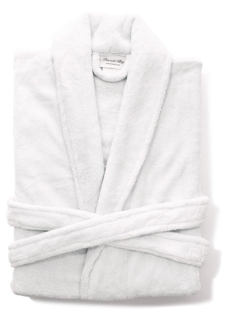 Zen Pearlon Robe, White