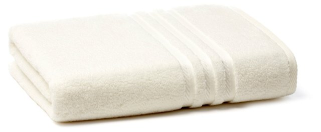Boca Bath Towel, Ivory