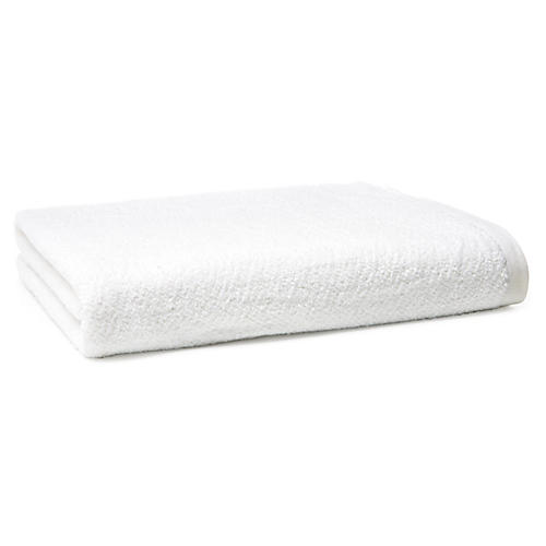 Amalfi Bath Sheet, White