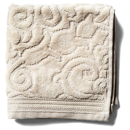 Park Avenue Washcloth, Beige