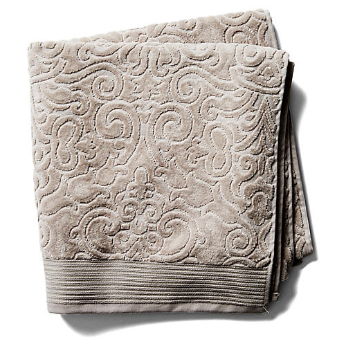 Park Avenue Bath Towel, Flint