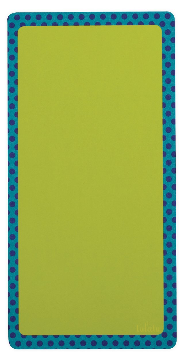S/2 Cool Dots Paper List Pads, Green