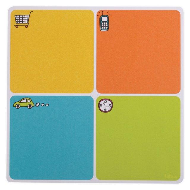 S/2 Errands Paper List Pads, Multi