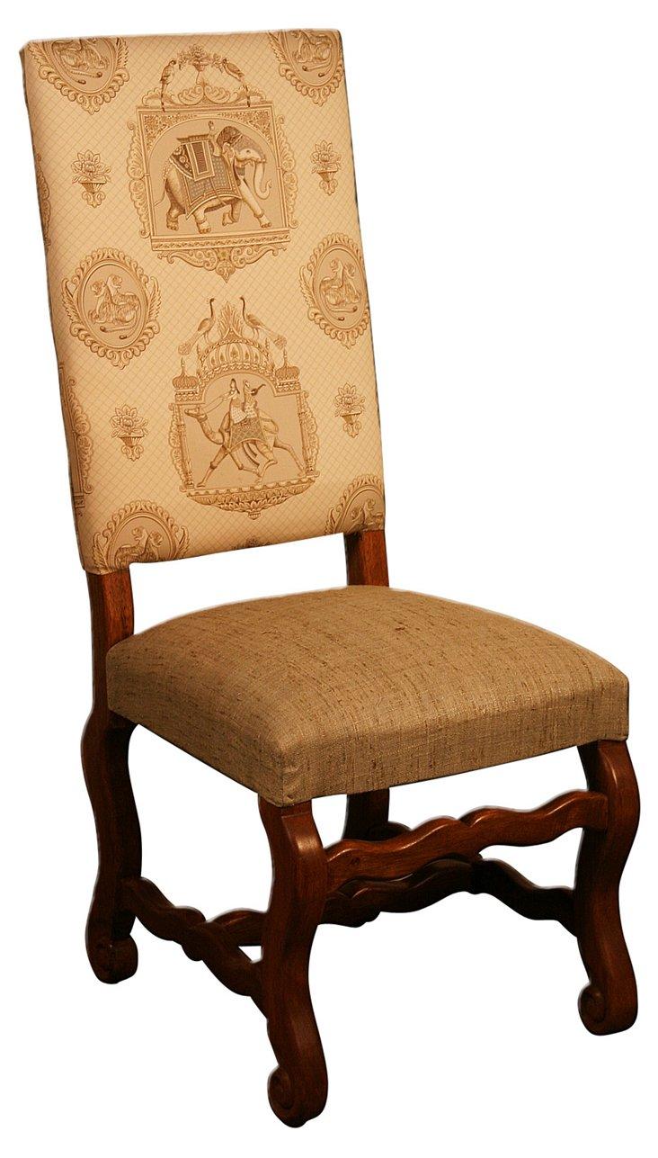 Mohena Dining Chair, Tan