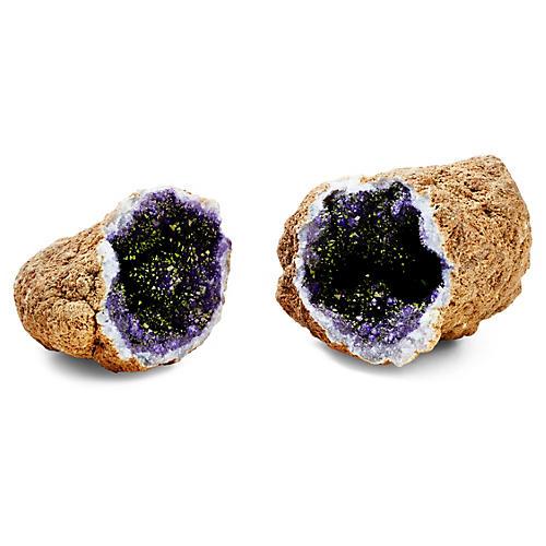Glamour Geode, Purple