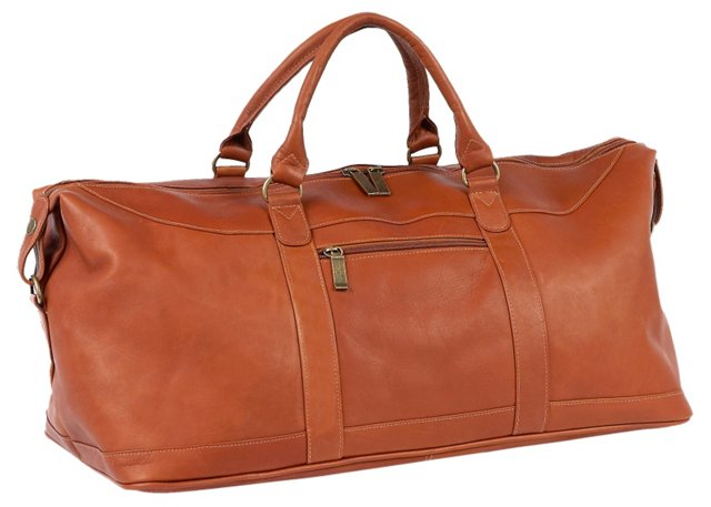 Leather All-American Duffel, Saddle