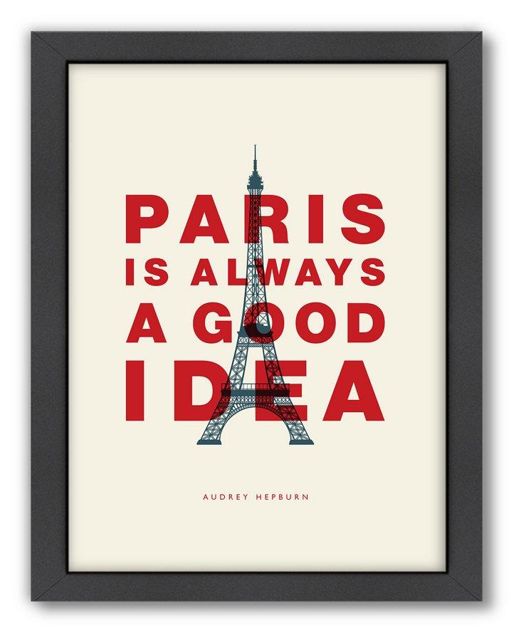 Wilson, Paris is Always a Good Idea