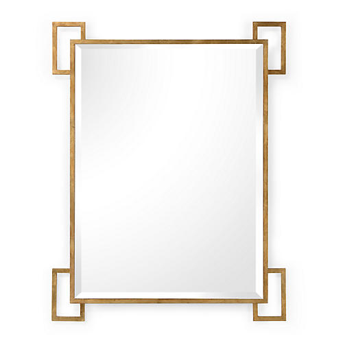 Easton Wall Mirror, Gold
