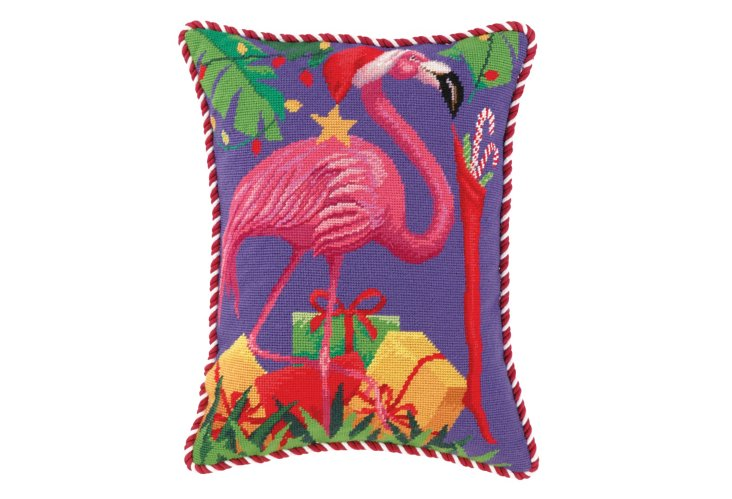 Flamingo 14x18 Pillow, Multi