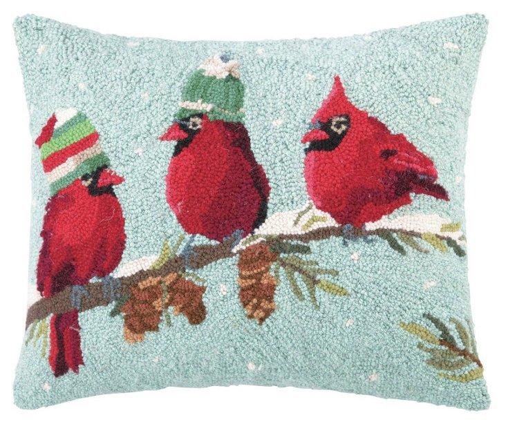 Birdies 16x20 Pillow, Multi