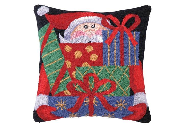 Santa 16x16 Pillow, Multi
