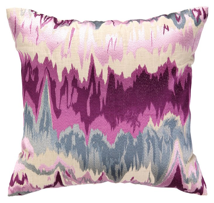 Meghan 20x20 Cotton Pillow, Multi