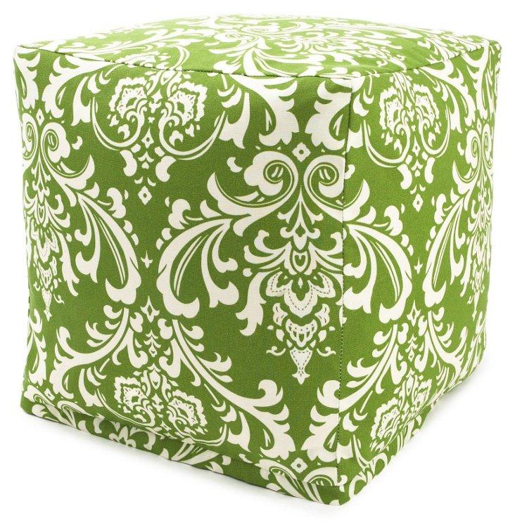 Quarter Outdoor Cube, Green