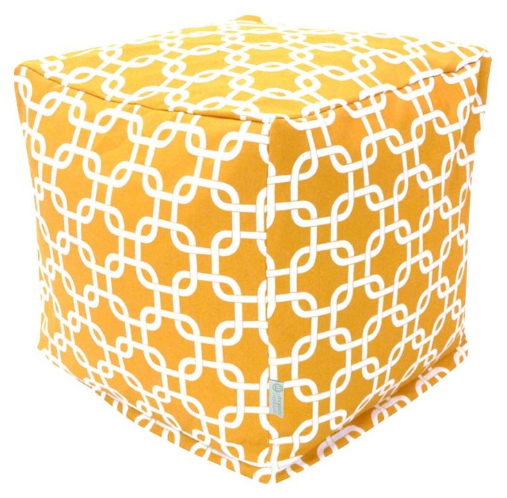 Links Outdoor Cube, Yellow