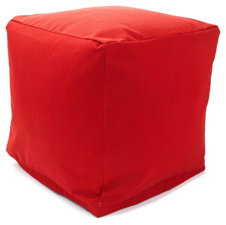 Outdoor Cube, Red