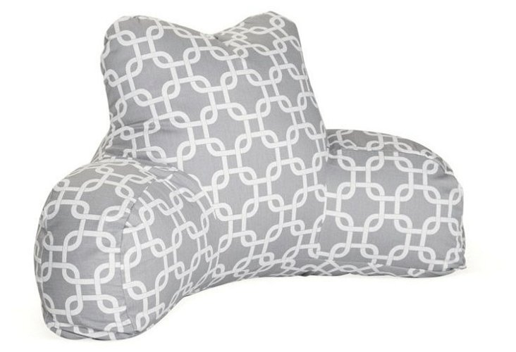 Linked Boyfriend Pillow, Gray