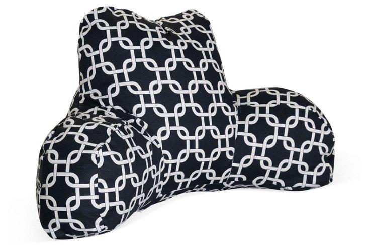 Linked Boyfriend Pillow, Black