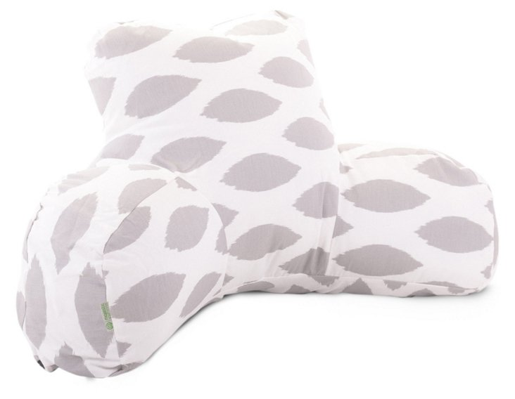 Ogee Reading Pillow, Gray