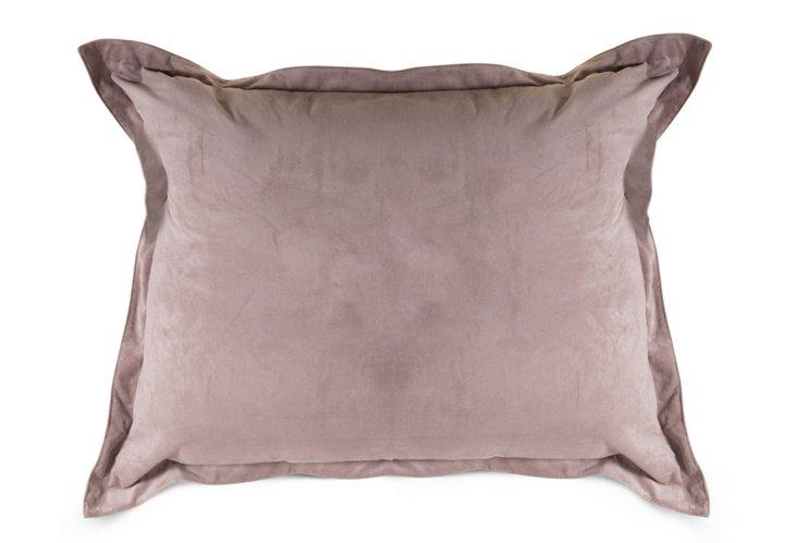 Oversize 48x37 Floor Pillow, Steel Gray