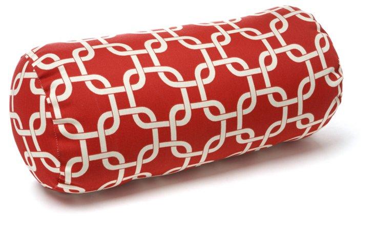 Links 8x18.5 Bolster Pillow, Red