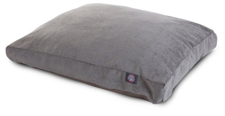Villa Rectangle Bed, Gray