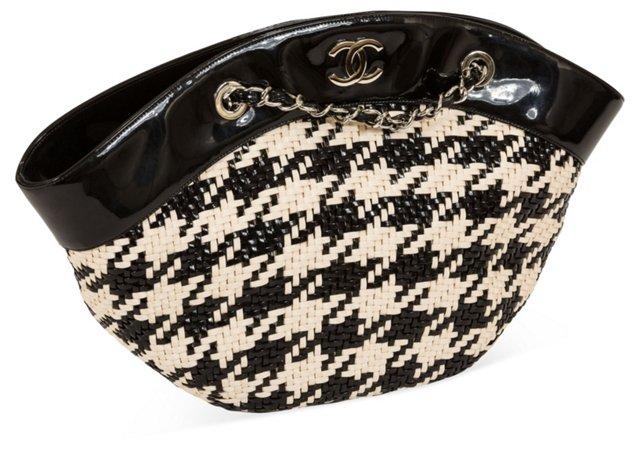 Chanel Basketweave Tote