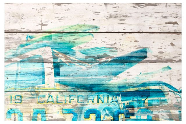 Surfers Cove, Reclaimed Barn Wood